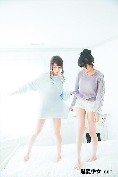 ヤングガンガンNo.1 桜井玲香&秋元真夏、矢吹奈子&田中美久 (4)