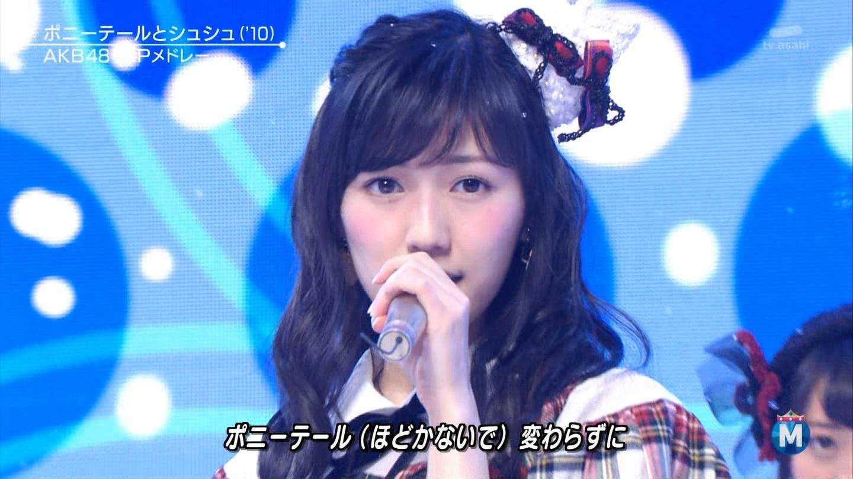渡辺麻友 ミュージックステーションSP 20141226 (24)