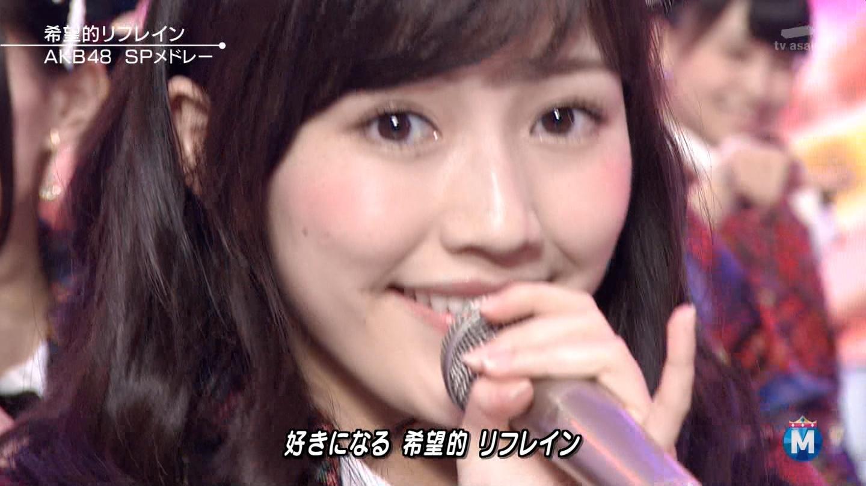 渡辺麻友 ミュージックステーションSP 20141226 (9)