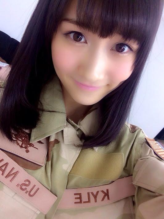 矢倉楓子ソロ表紙 月刊アームズマガジン4月号