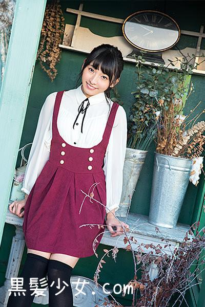 ヤングガンガンNo.3 HKT48栗原紗英グラビア掲載 (1)