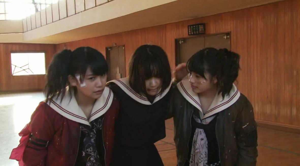 マジすか学園4 3話  さくら カミソリ ゾンビ(14)