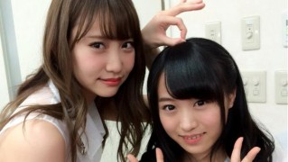 AKB48永尾まりや&坂口凪沙のツーショット (2)