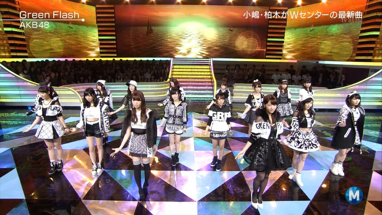 宮脇咲良たん専用 Mステ AKB48「Green Flash」 ミュージックステーション (49)