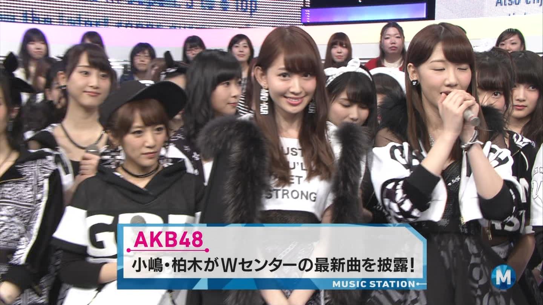 宮脇咲良たん専用 Mステ AKB48「Green Flash」 ミュージックステーション (4)
