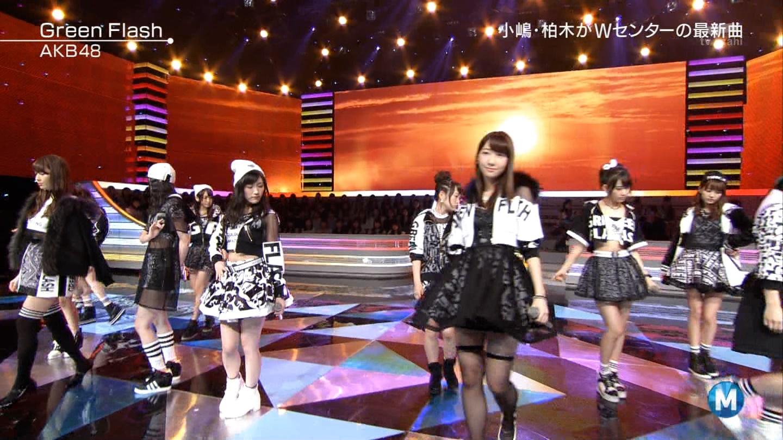 宮脇咲良たん専用 Mステ AKB48「Green Flash」 ミュージックステーション (38)