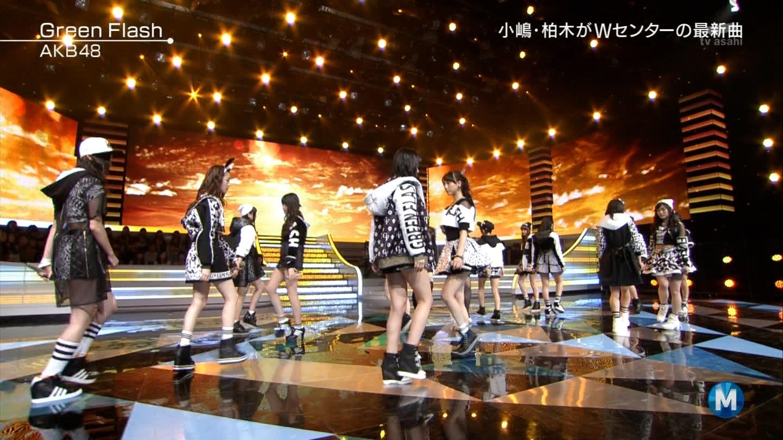 宮脇咲良たん専用 Mステ AKB48「Green Flash」 ミュージックステーション (25)