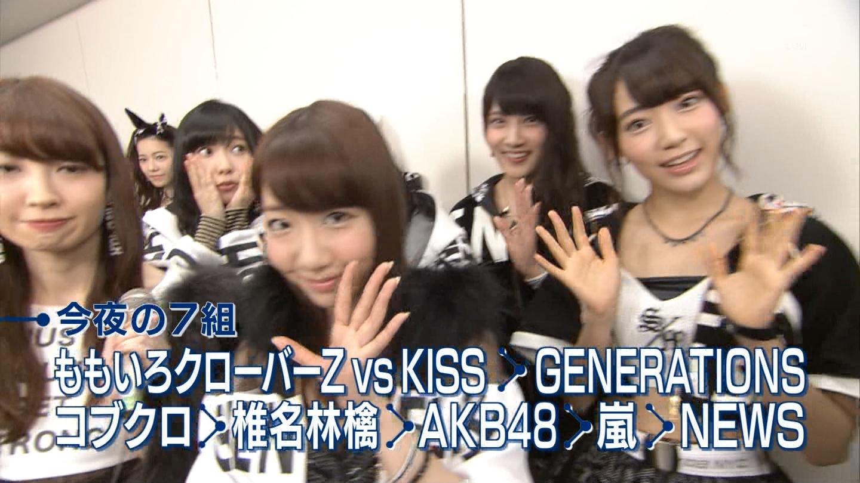 宮脇咲良たん専用 Mステ AKB48「Green Flash」 ミュージックステーション (8)