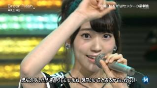 宮脇咲良たん専用 Mステ AKB48「Green Flash」 ミュージックステーション (47)