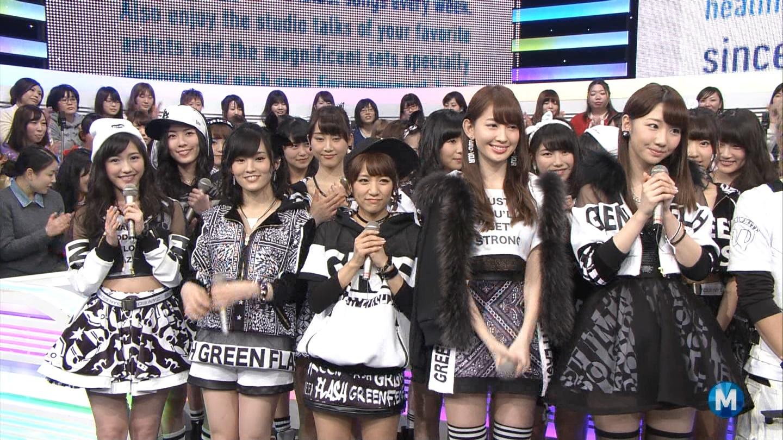 宮脇咲良たん専用 Mステ AKB48「Green Flash」 ミュージックステーション (15)