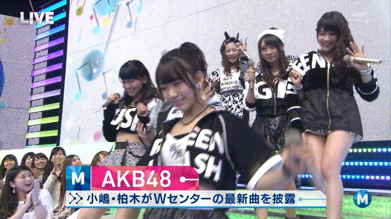 宮脇咲良たん専用 Mステ AKB48「Green Flash」 ミュージックステーション (11)