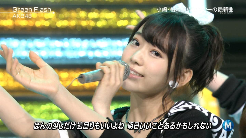宮脇咲良たん専用 Mステ AKB48「Green Flash」 ミュージックステーション (46)