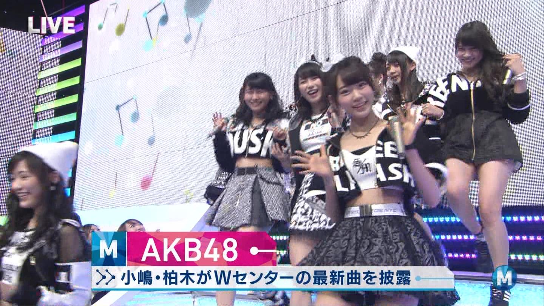 宮脇咲良たん専用 Mステ AKB48「Green Flash」 ミュージックステーション (1)