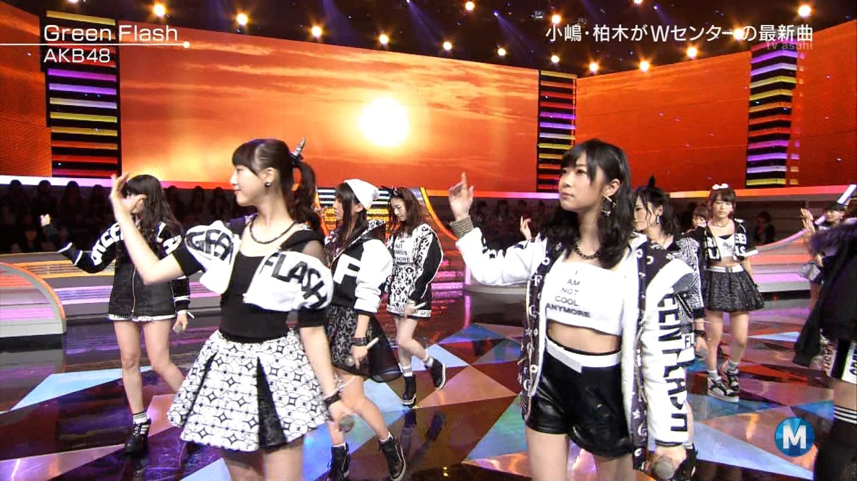 宮脇咲良たん専用 Mステ AKB48「Green Flash」 ミュージックステーション (37)