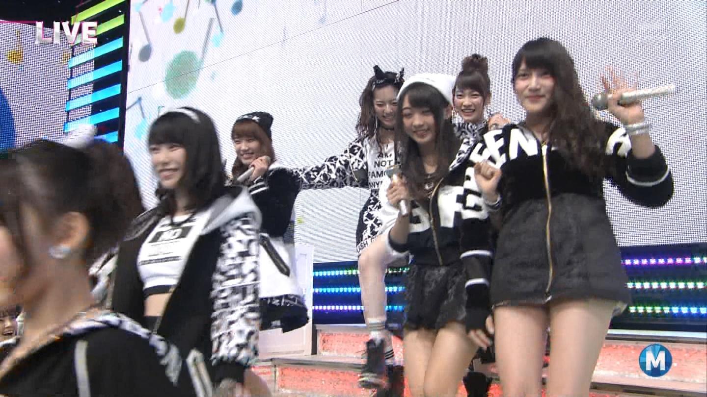 宮脇咲良たん専用 Mステ AKB48「Green Flash」 ミュージックステーション (12)