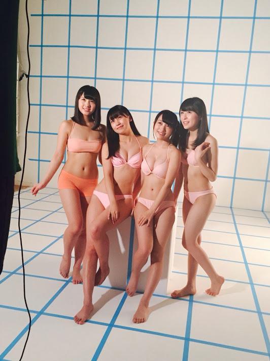 オフショット集 UTB3月号 AKB48小嶋真子、向井地美音、大和田南那、川本沙耶 (5)