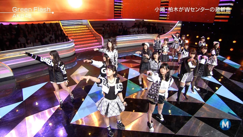 宮脇咲良たん専用 Mステ AKB48「Green Flash」 ミュージックステーション (36)