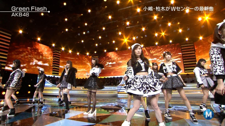 宮脇咲良たん専用 Mステ AKB48「Green Flash」 ミュージックステーション (28)