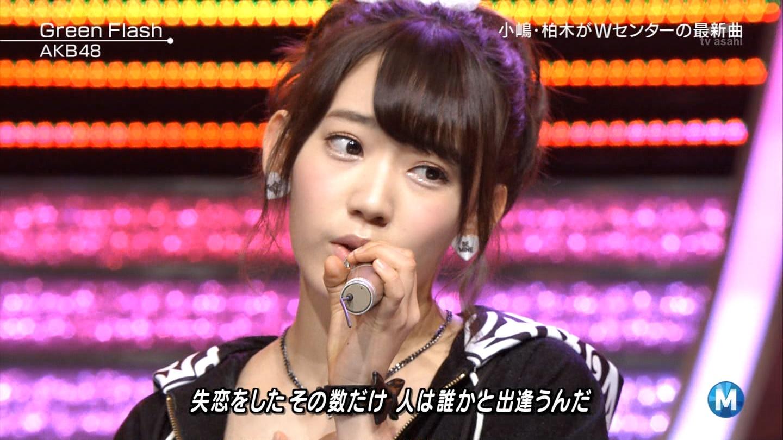 宮脇咲良たん専用 Mステ AKB48「Green Flash」 ミュージックステーション (39)