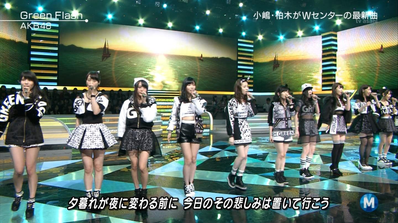 宮脇咲良たん専用 Mステ AKB48「Green Flash」 ミュージックステーション (42)