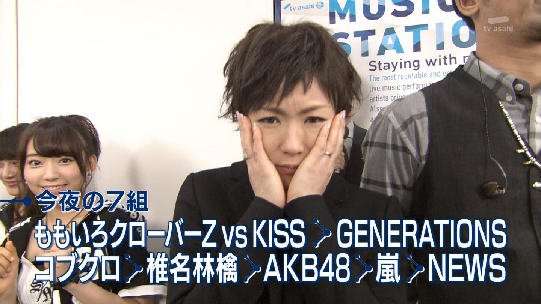 宮脇咲良たん専用 Mステ AKB48「Green Flash」 ミュージックステーション (7)