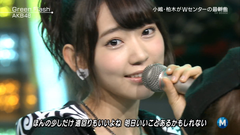 宮脇咲良たん専用 Mステ AKB48「Green Flash」 ミュージックステーション (48)