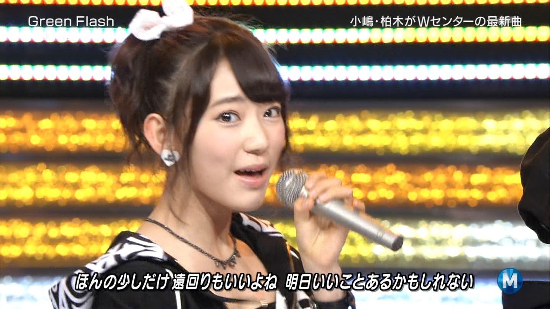 宮脇咲良たん専用 Mステ AKB48「Green Flash」 ミュージックステーション (31)