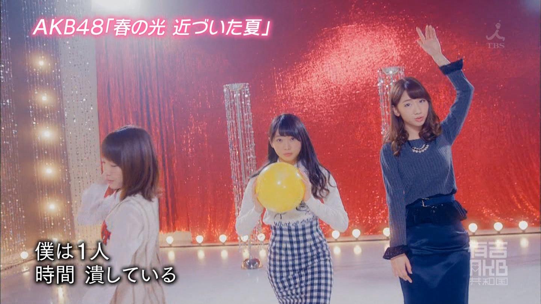 AKB48「春の光 近づいた夏」MV (38)