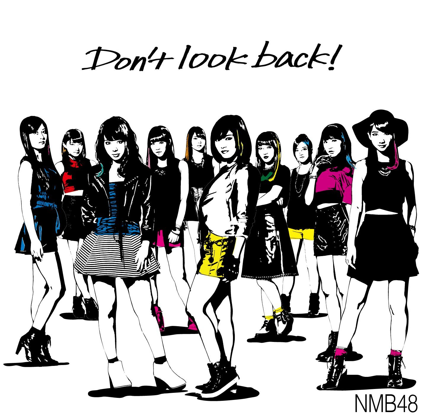Don't look back! ジャケット  (3)
