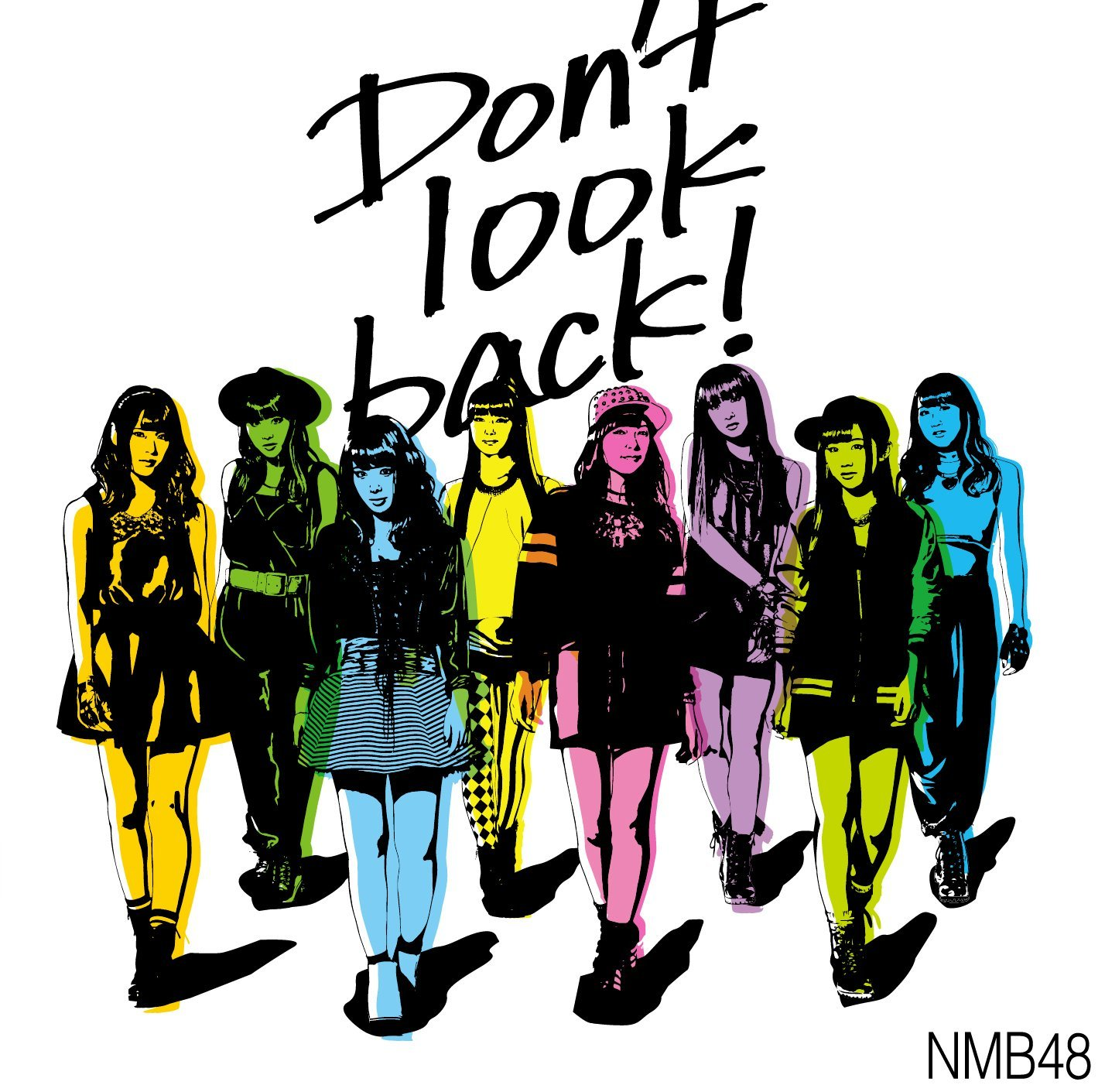 Don't look back! ジャケット  (5)