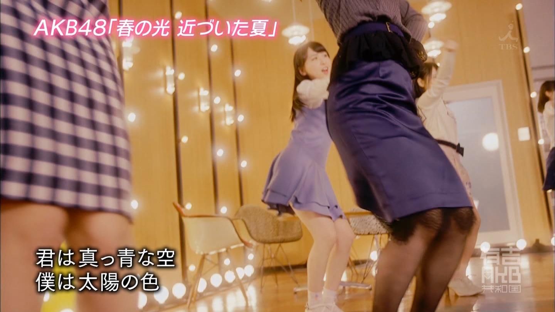 AKB48「春の光 近づいた夏」MV (58)