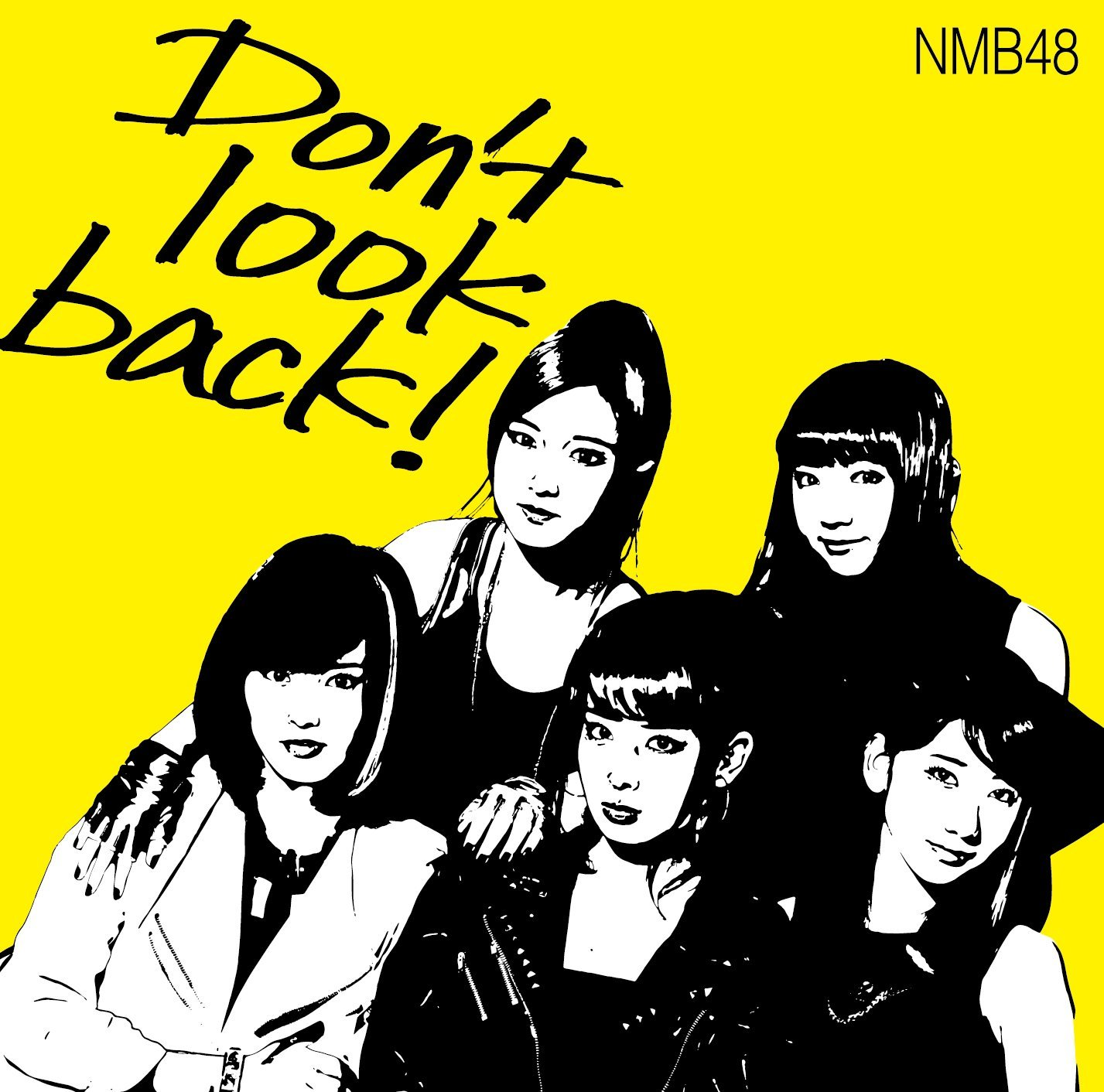 Don't look back! ジャケット