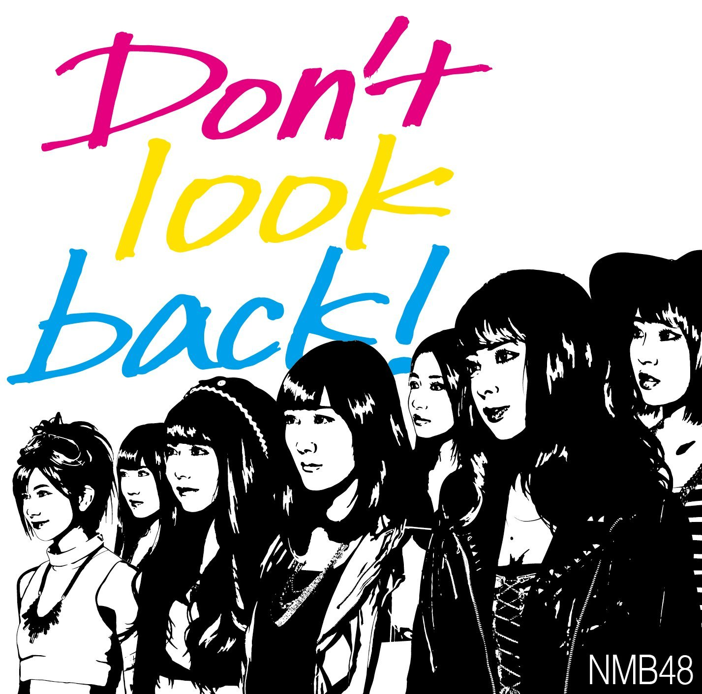 Don't look back! ジャケット  (4)