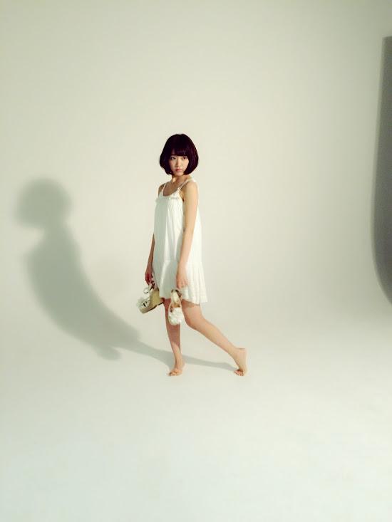 宮脇咲良 ヤングアニマルとpopteenの撮影。Girlpop