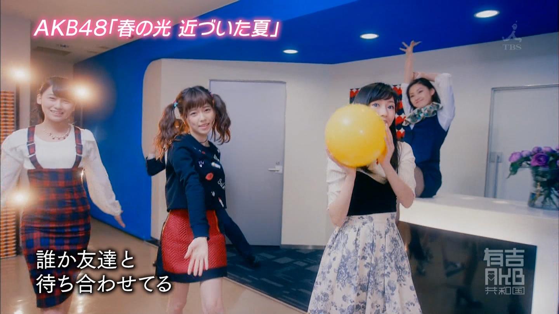 AKB48「春の光 近づいた夏」MV (30)