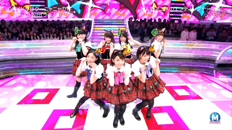 宮脇咲良 Mステ ミュージックステーション ニャーKB 20150403 (77)