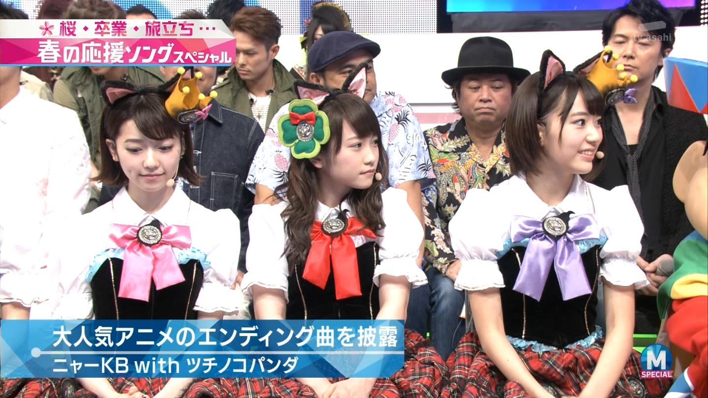 宮脇咲良 Mステ ミュージックステーション ニャーKB 20150403 (21)