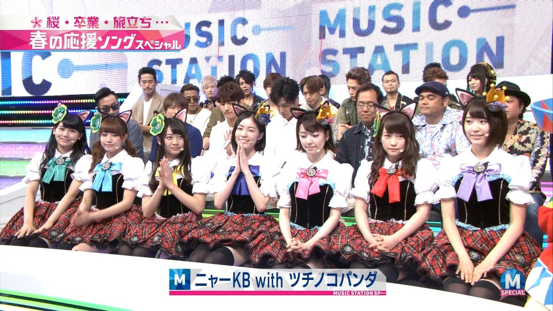 宮脇咲良 Mステ ミュージックステーション ニャーKB 20150403 (7)