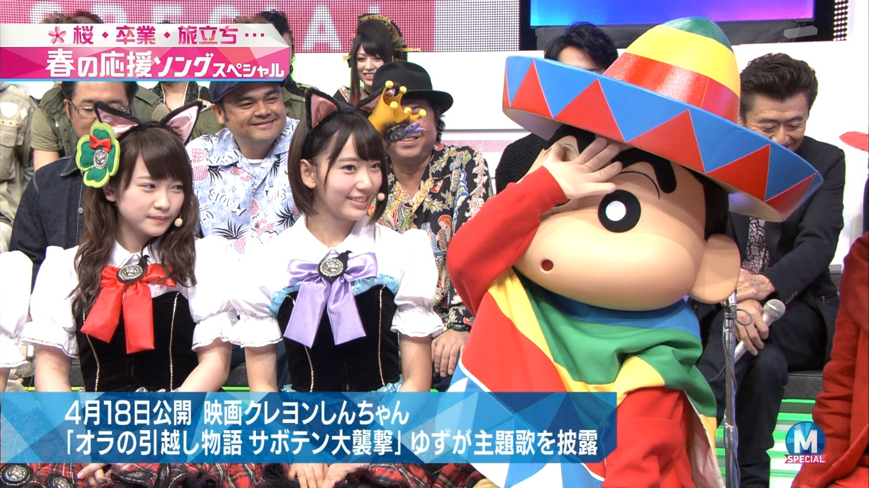 宮脇咲良 Mステ ミュージックステーション ニャーKB 20150403 (9)