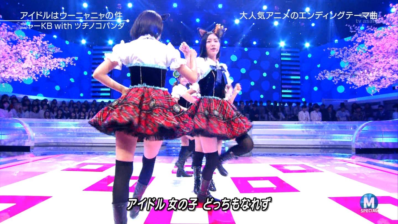 宮脇咲良 Mステ ミュージックステーション ニャーKB 20150403 (64)