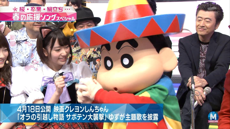 宮脇咲良 Mステ ミュージックステーション ニャーKB 20150403 (13)