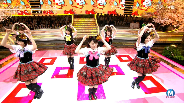 宮脇咲良 Mステ ミュージックステーション ニャーKB 20150403 (27)