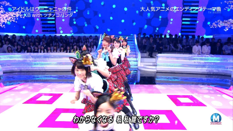 宮脇咲良 Mステ ミュージックステーション ニャーKB 20150403 (67)