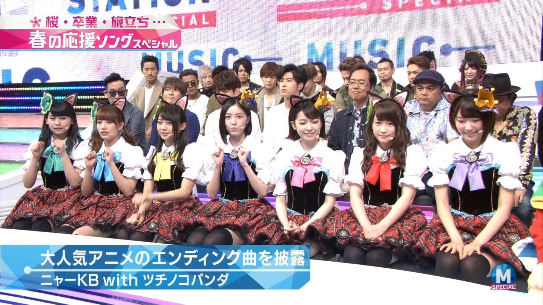 宮脇咲良 Mステ ミュージックステーション ニャーKB 20150403 (20)