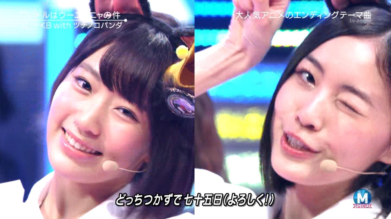 宮脇咲良 Mステ ミュージックステーション ニャーKB 20150403 (56)