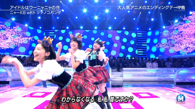 宮脇咲良 Mステ ミュージックステーション ニャーKB 20150403 (65)