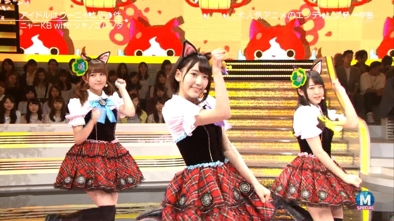 宮脇咲良 Mステ ミュージックステーション ニャーKB 20150403 (41)