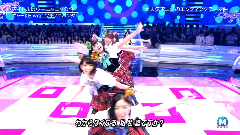 宮脇咲良 Mステ ミュージックステーション ニャーKB 20150403 (68)