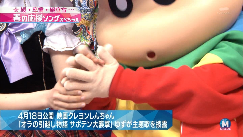 宮脇咲良 Mステ ミュージックステーション ニャーKB 20150403 (11)