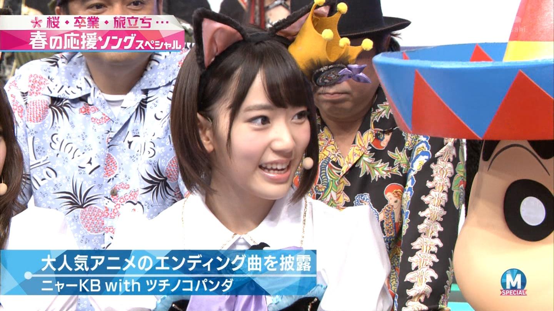 宮脇咲良 Mステ ミュージックステーション ニャーKB 20150403 (22)